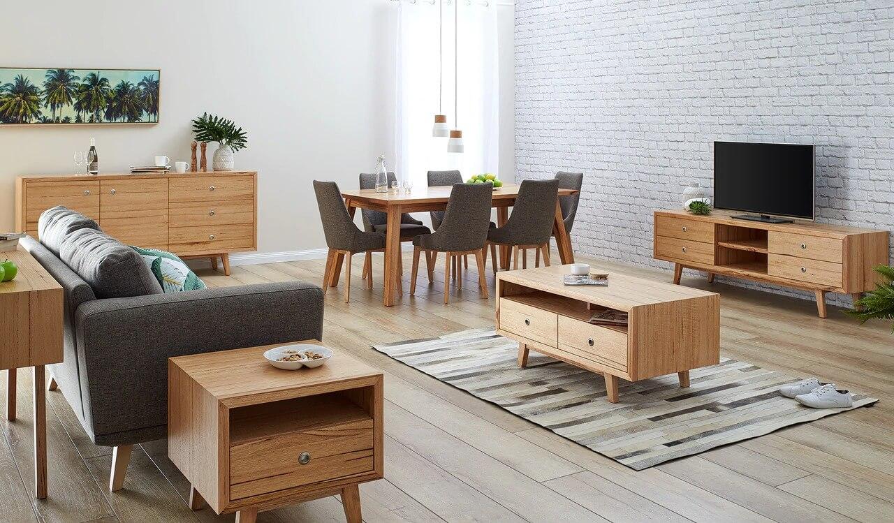 Nội thất gỗ mang đến sự ấm áp và gần gũi