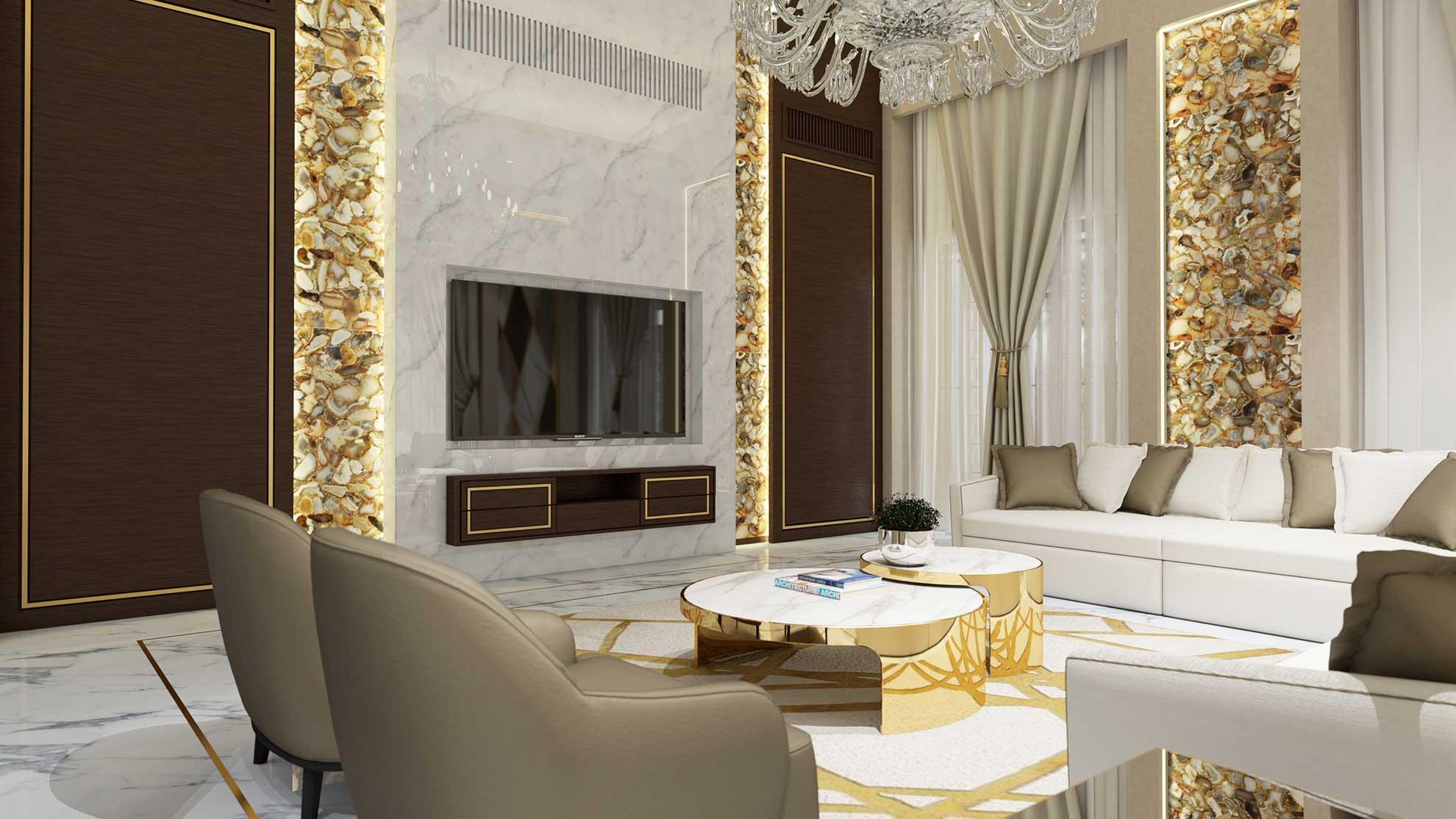 Yếu tố đơn giản trong thiết kế nội thất sang trọng
