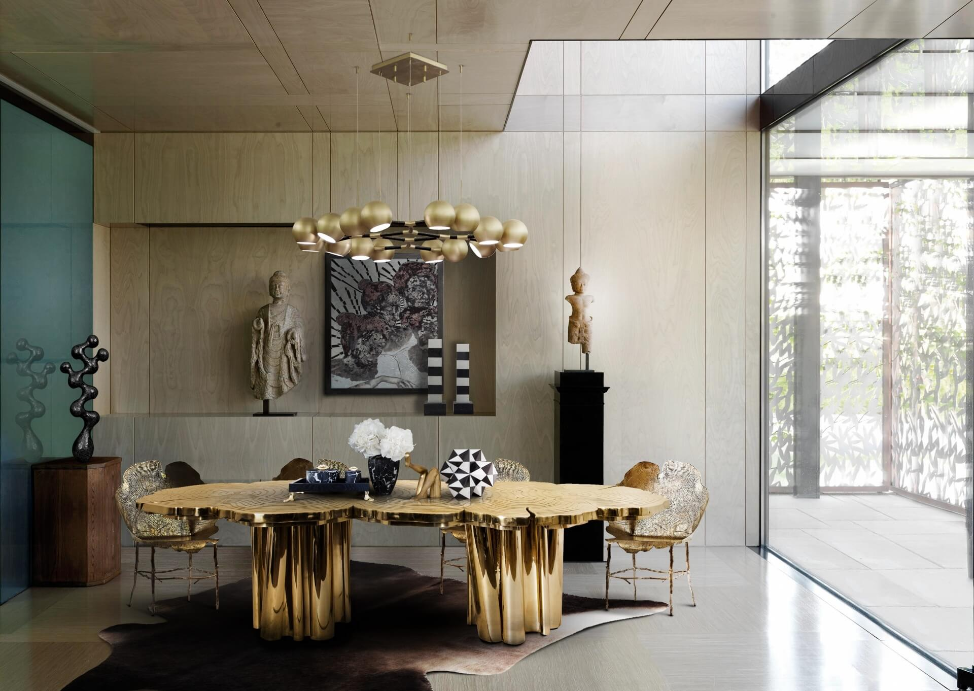 Top nhữThiết kế nội thất dát vàng ng thiết kế nội thất dát vàng sang trọng và đẳng cấp nhất