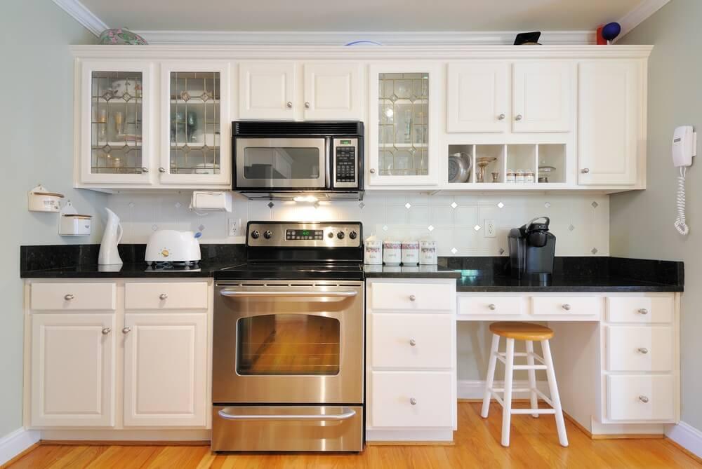 Lựa chọn kiểu dáng tủ bếp