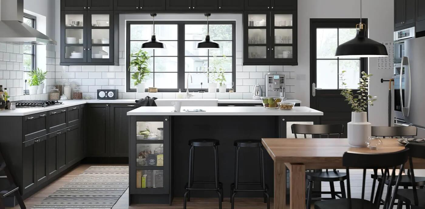 Thiết kế phòng bếp với không gian mở