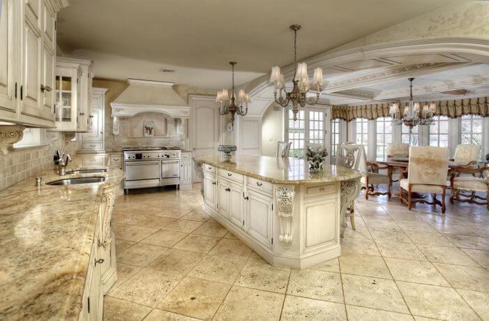Trang trí phòng bếp phong cách thiết kế cổ điển