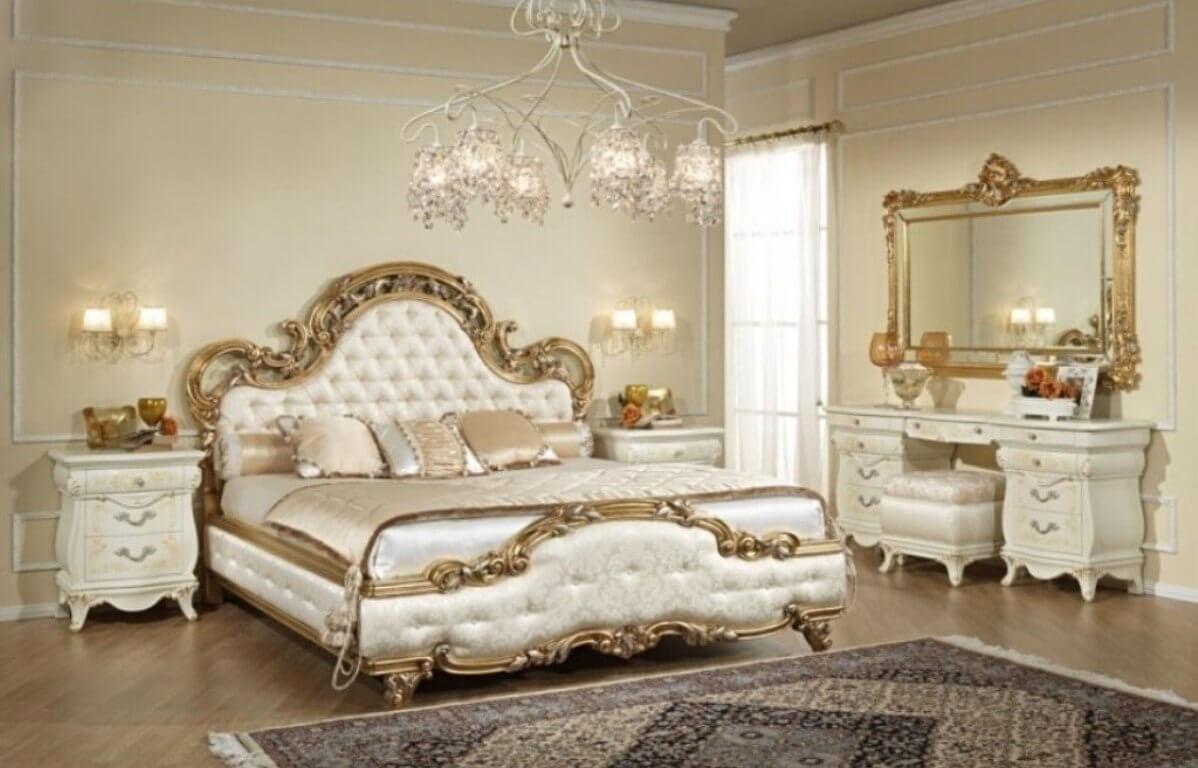 Trang trí phòng ngủ phong cách thiết kế cổ điển