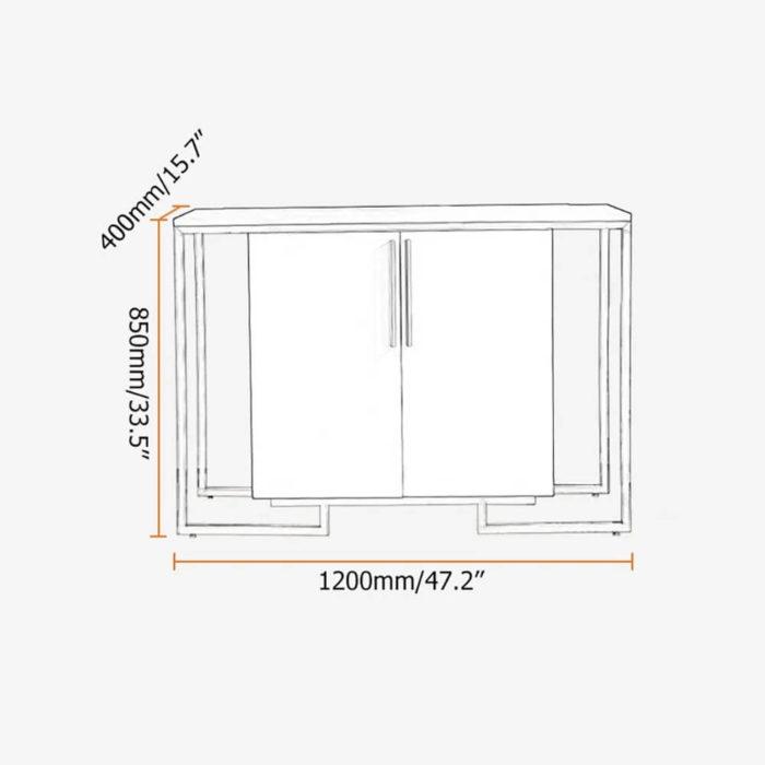 Bàn Console Đẹp PKD 08 3