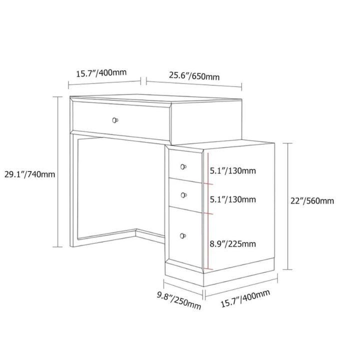 Bàn Trang ĐIểm Thông Minh PKD 11 5