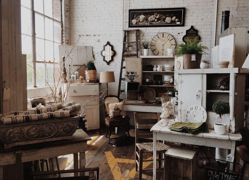 Các đồ vật trang trí nội thất Vintage