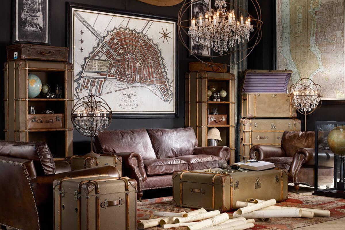 Đồ nội thất của phong cách thiết kế Vintage