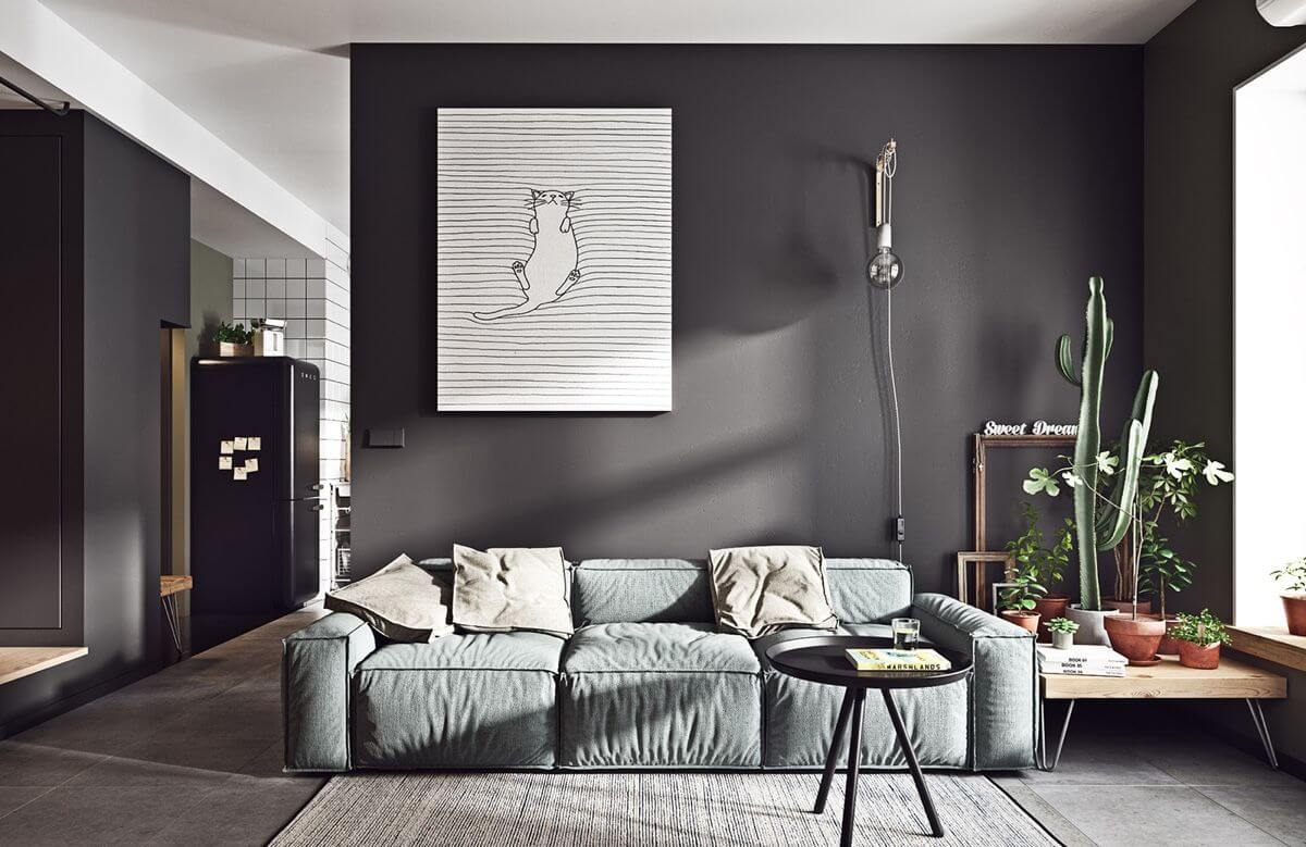 Đồ nội thất hiện đại, tối giản trong thiết kế bắc âu