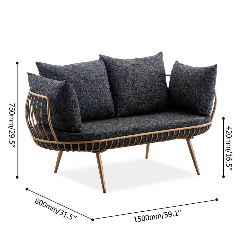 Ghế Sofa Mini PKD 01 2