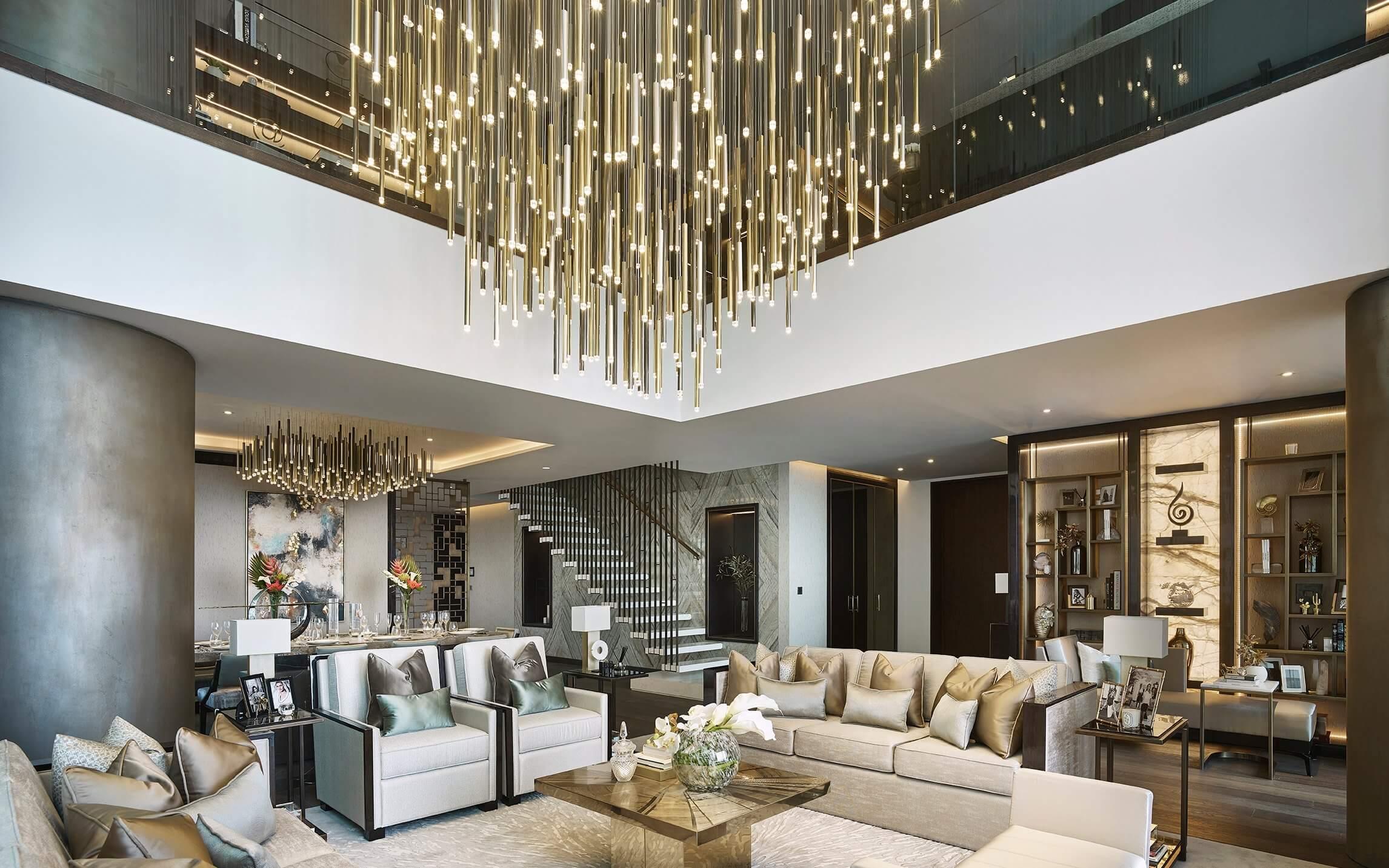 Hệ thống chiếu sáng tạo nên phong cách Luxury