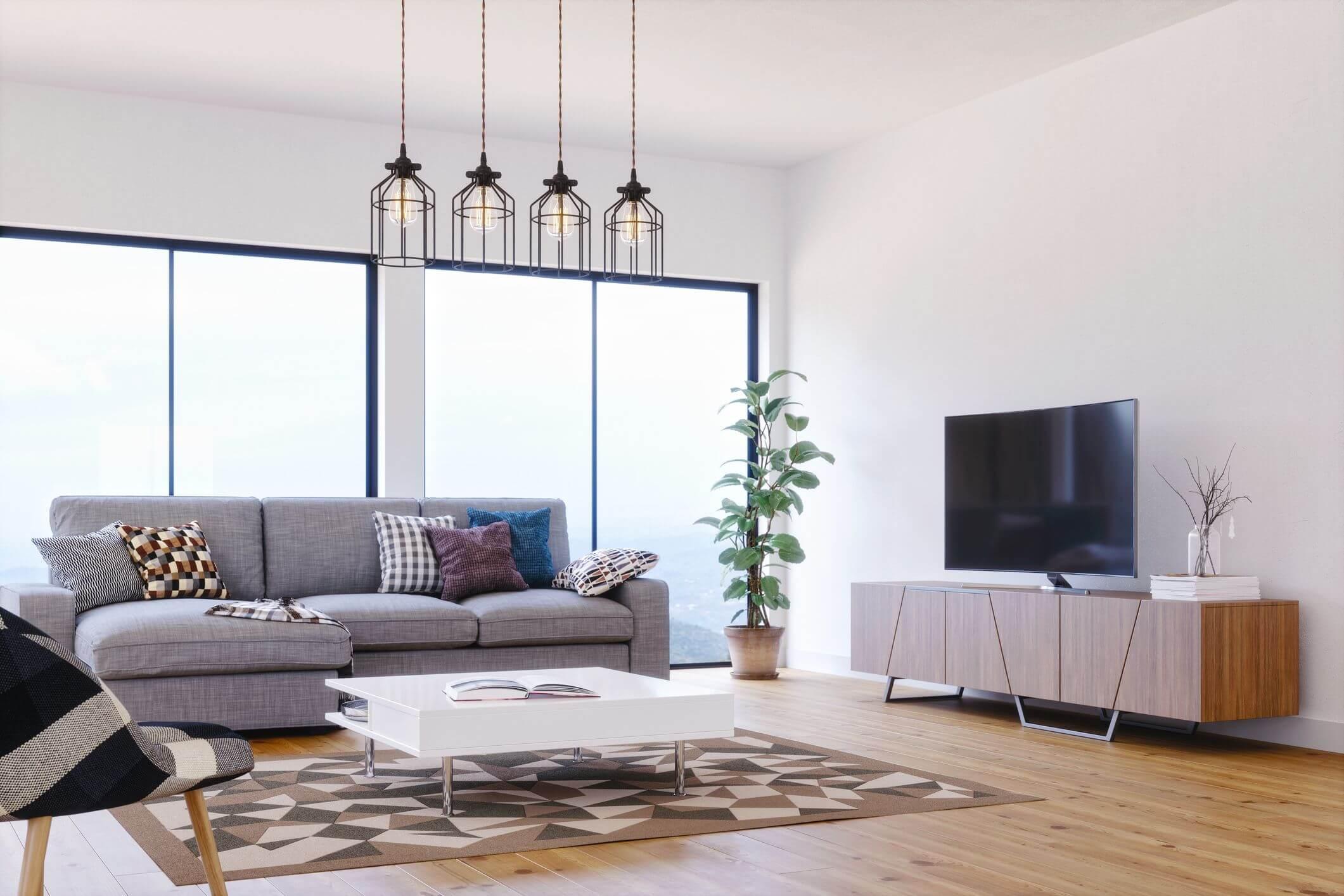 Màu sắc trong thiết kế nội thất đương đại