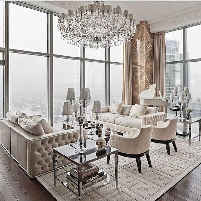 Những món đồ nội thất phong cách thiết kế Luxury