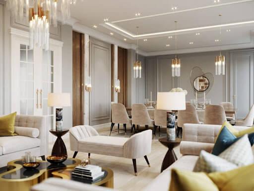 Nội thất Luxury được làm từ chất liệu cao cấp