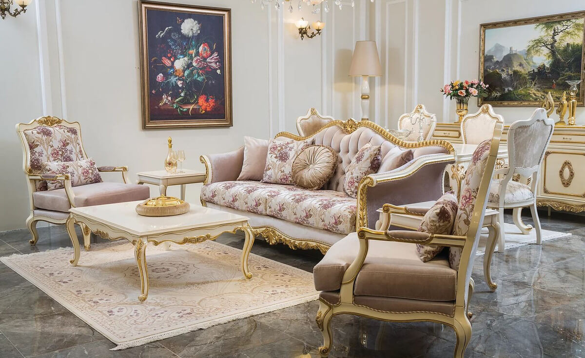 Phong cách Baroque sang trọng