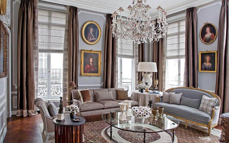 Phong cách Luxury truyền thống