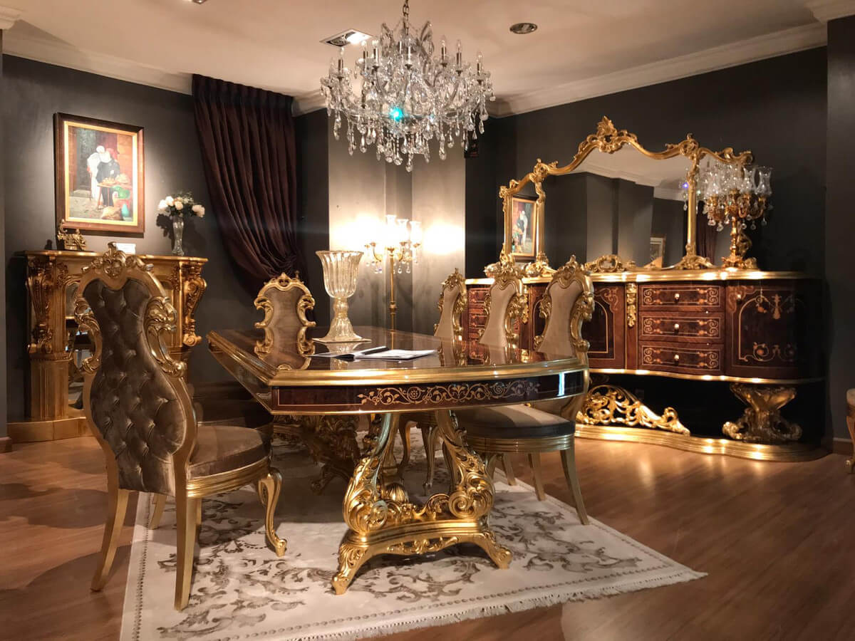 Phong cách Rococo Luxury