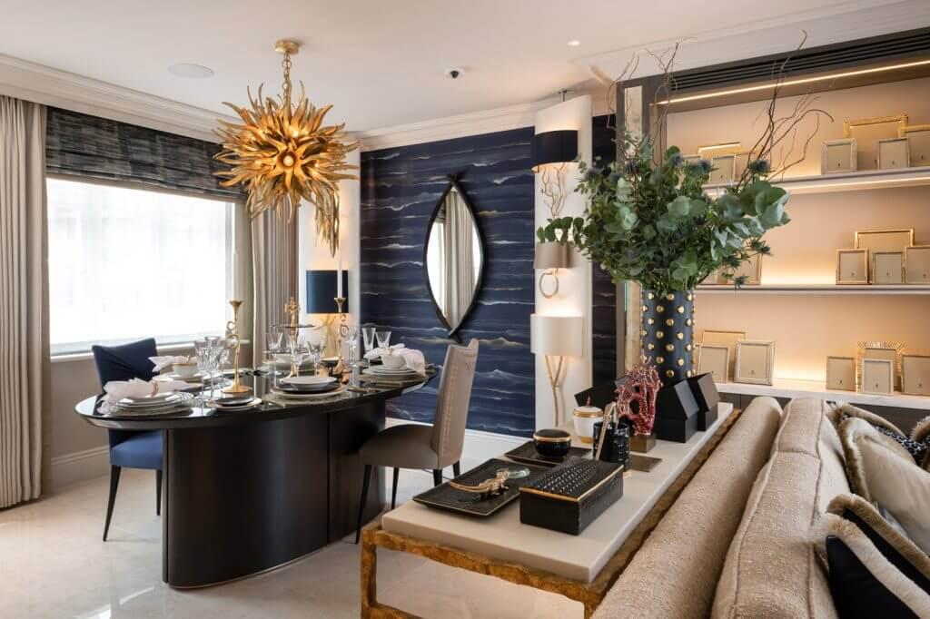 Phong cách thiết kế Luxury sang trọng và quý phái