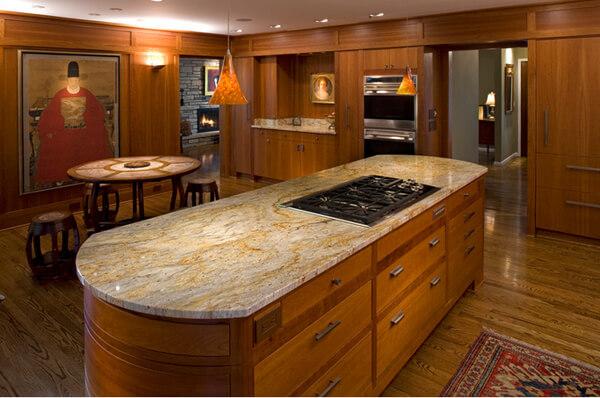 Thiết kế nhà bếp theo phong cách thiết kế Á Đông hiện đại