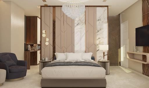 Thiết kế phòng ngủ master phong cách Luxury