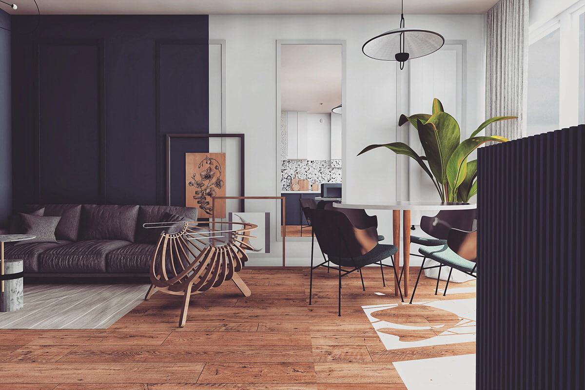 Trang trí nội thất phong cách Scandinavian