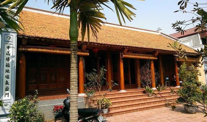 Thiết kế kiến trúc nhà gỗ 3 gian