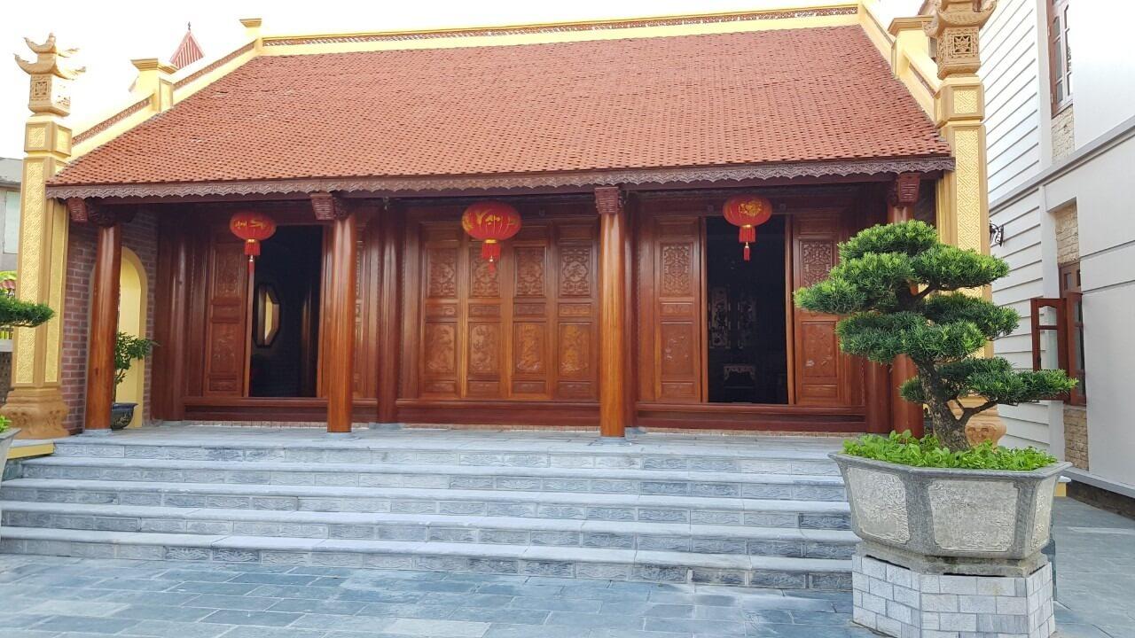 Thiết kế nhà gỗ 3 gian hài hòa giữa truyền thống và hiện đại