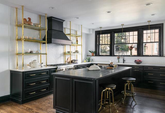 Thiết kế phòng bếp phong cách tân cổ điển