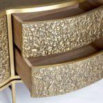 Tủ Trang Trí Mạ Vàng PKD 7