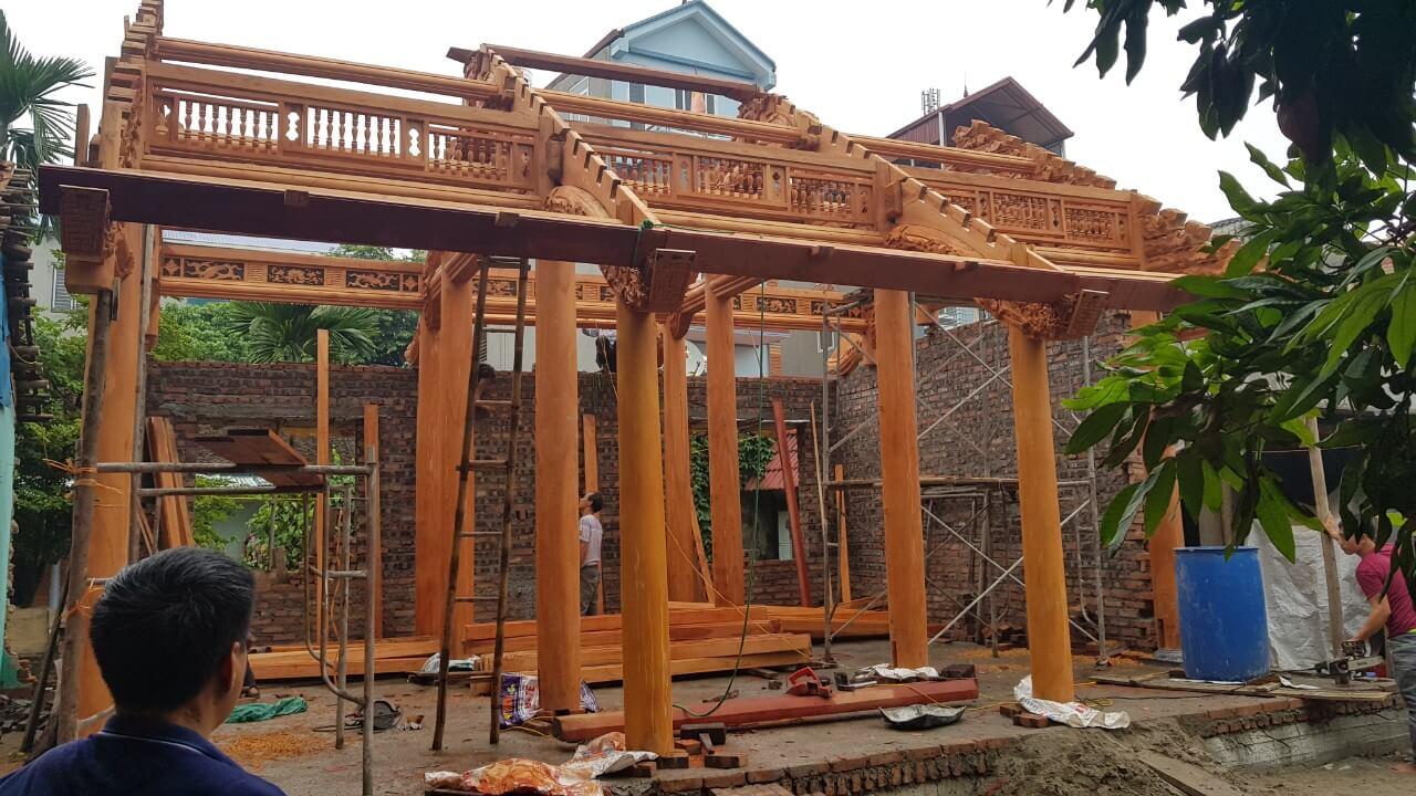 Vật liệu xây dựng nhà 3 gian Bắc bộ