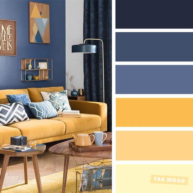 Bảng màu phòng khách
