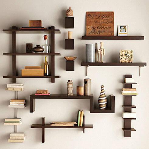 Các mẫu kệ sách treo tường đẹp