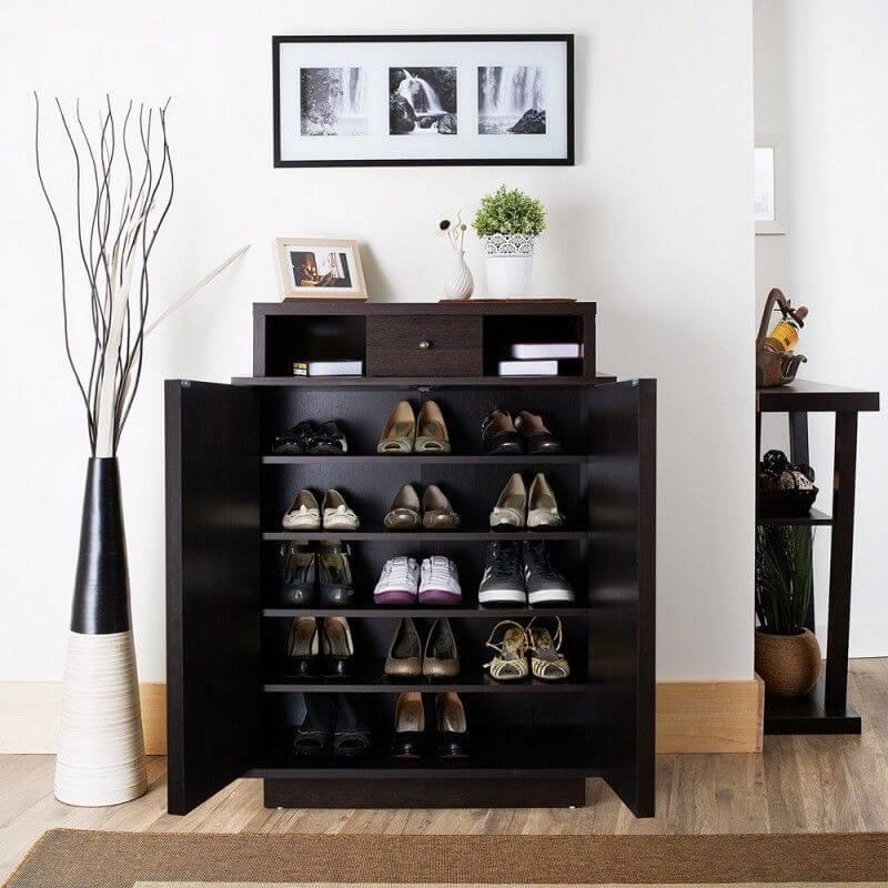 Cách lưu trữ giày gọn gàng