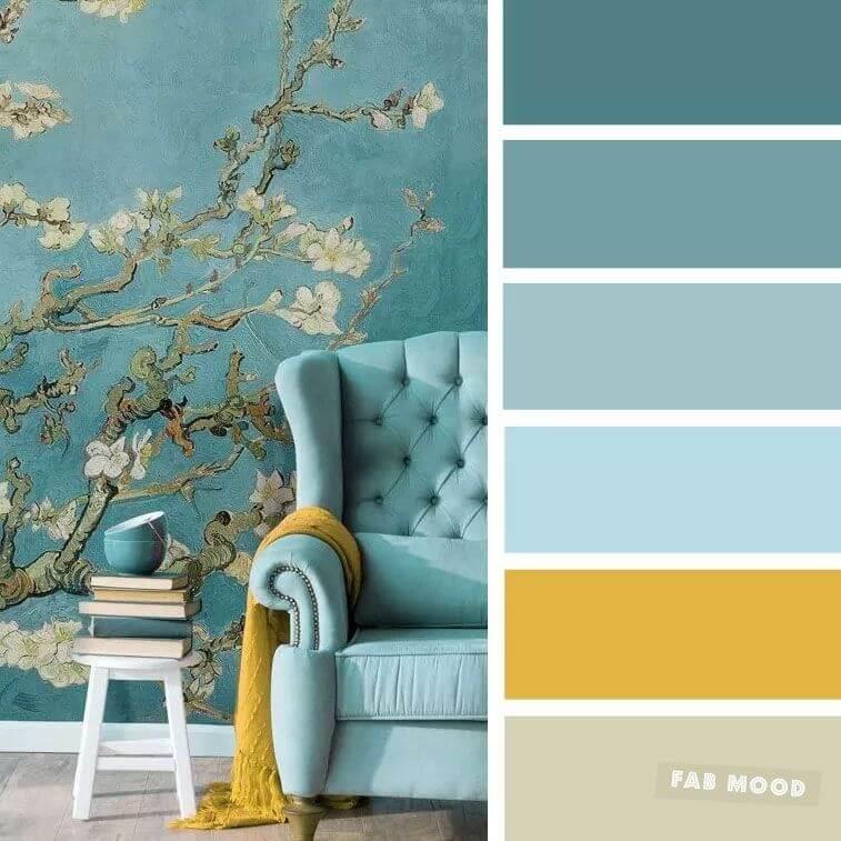 Chọn màu phòng khách theo sở thích