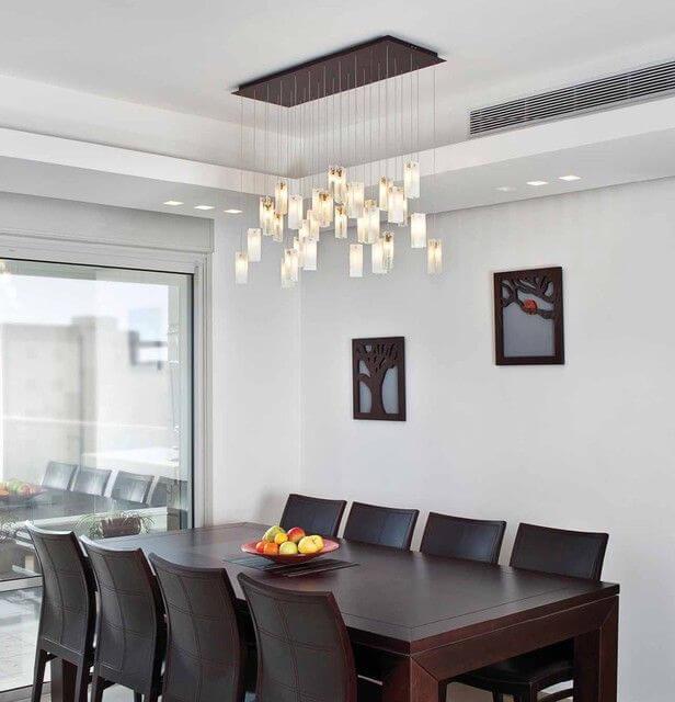 Đèn trang trí phòng ăn hiện đại