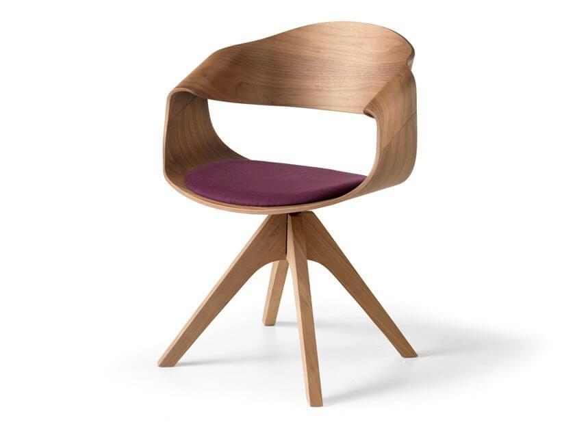 Ghế gỗ văn phòng