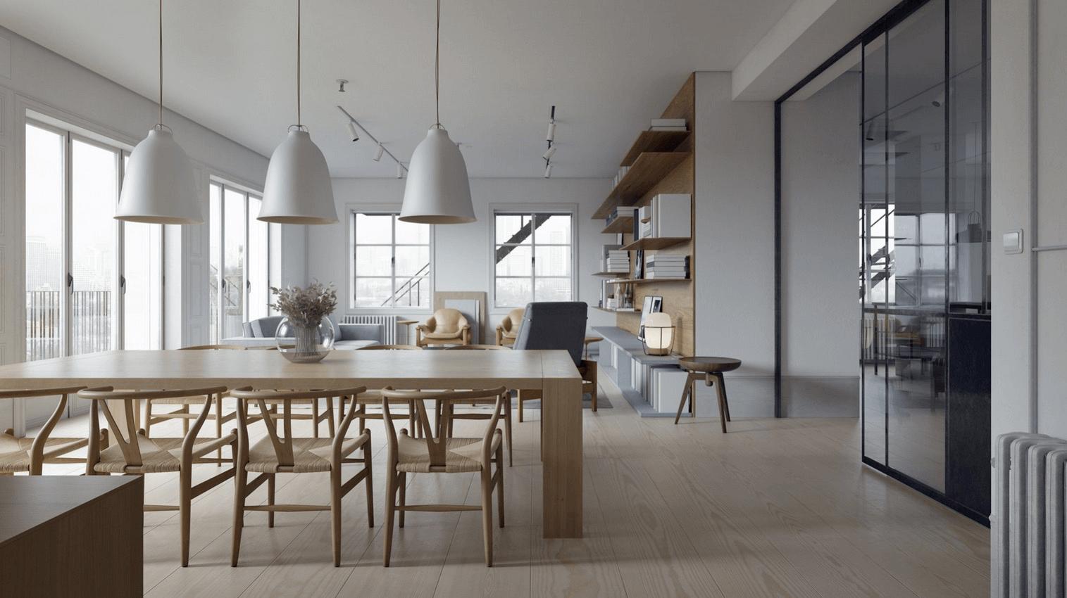 Kiến trúc phòng ăn hiện đại