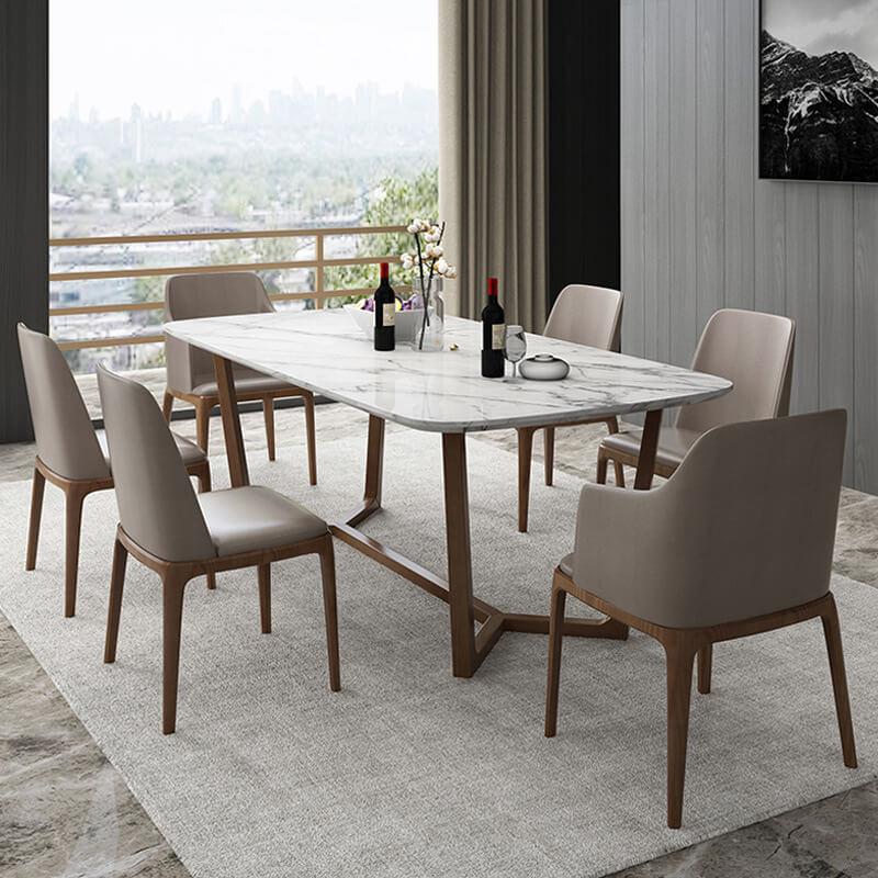 Mẫu bàn ghế phòng ăn hiện đại