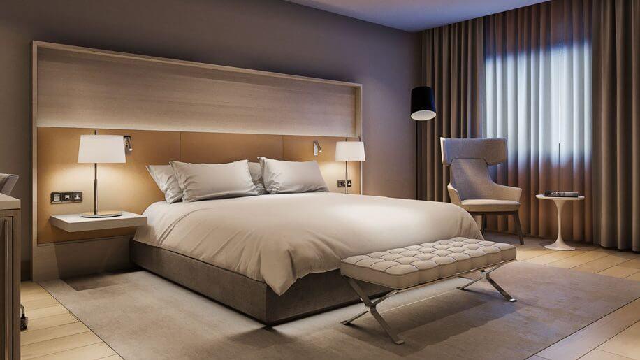 Nội thất gỗ hiện đại cho khách sạn