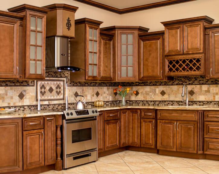 Nội thất gỗ nhà bếp hiện đại