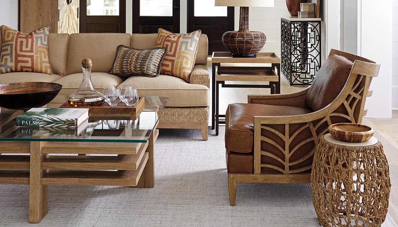 Nội thất gỗ phòng khách hiện đại