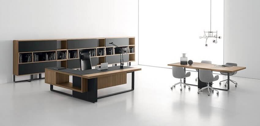 Nội thất gỗ văn phòng hiện đại