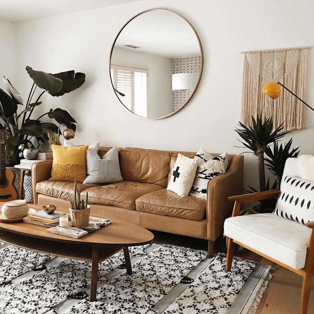 Phòng khách chung cư dạng Studio