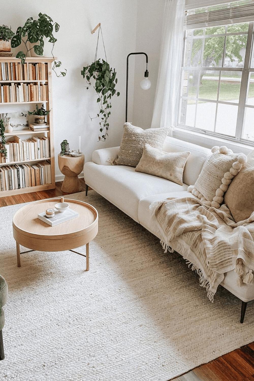 Phòng khách nhà cấp 4 đơn giản 2