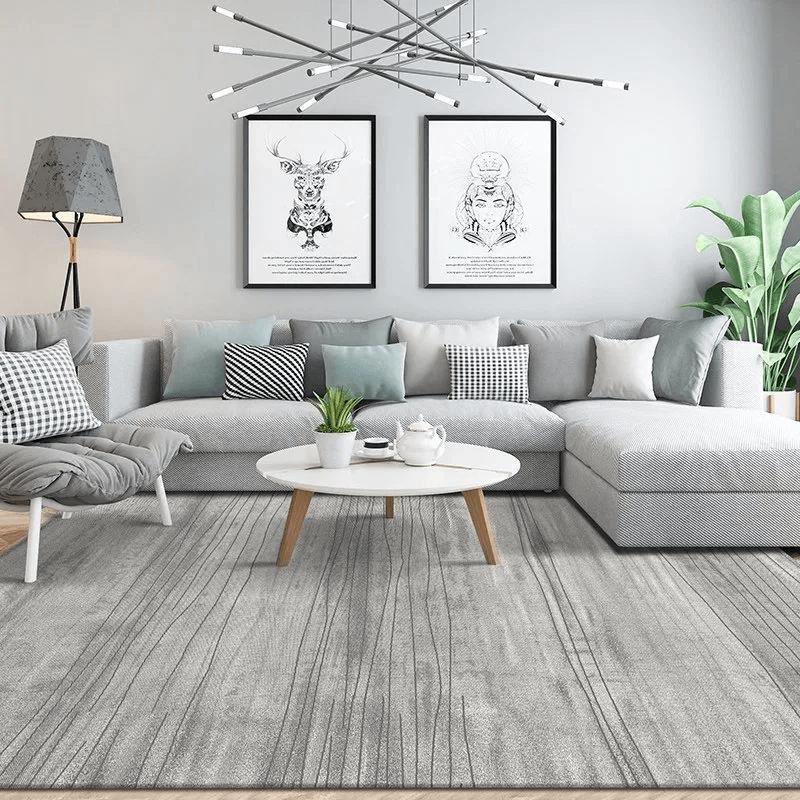 Sàn phòng khách đơn giản