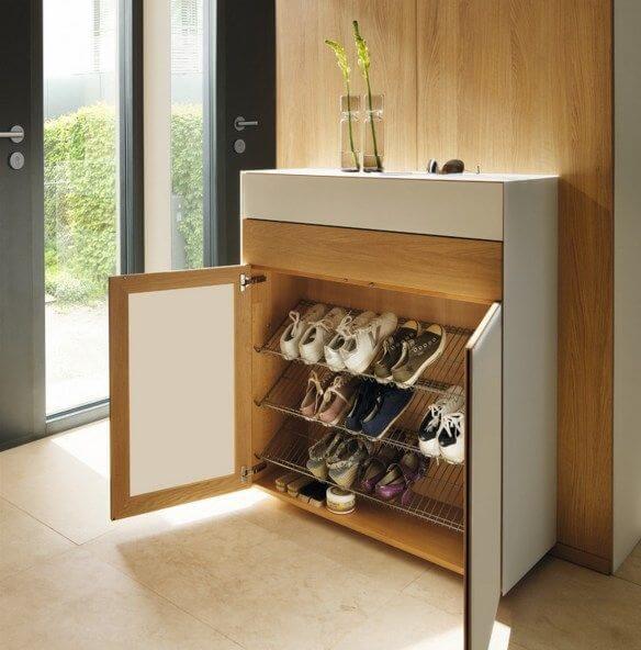 Sắp xếp hợp lý tủ giày