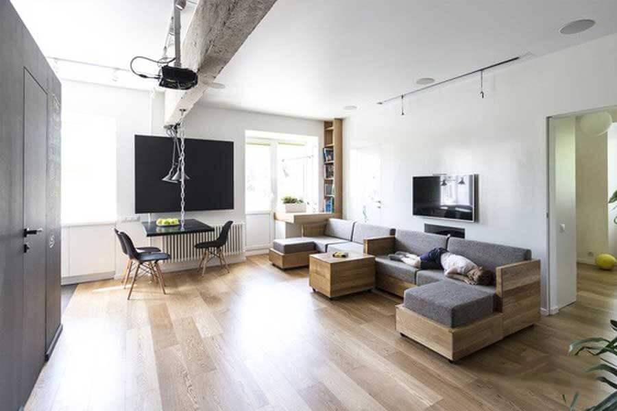 Sử dụng nội thất có thể gấp gọn
