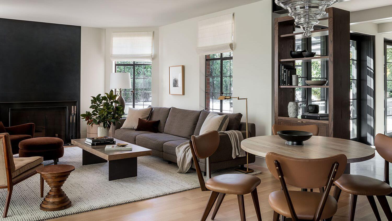 Thiết kế không gian phòng khách ấm cúng