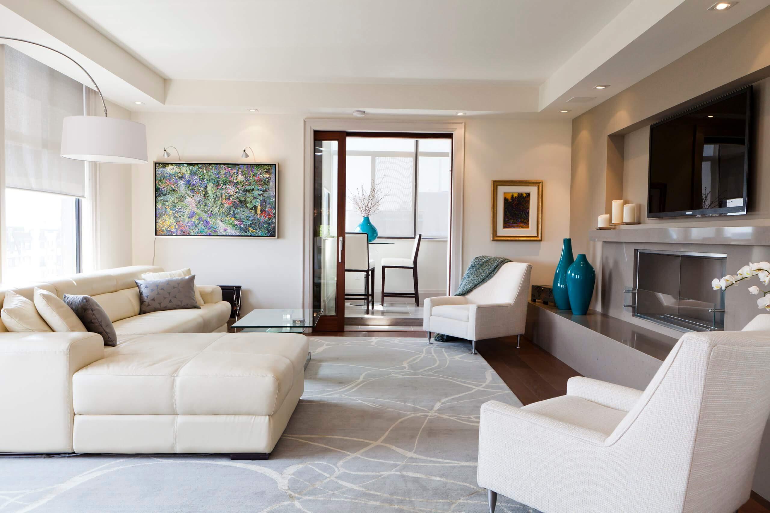 Thiết kế phòng khách chung cư 1
