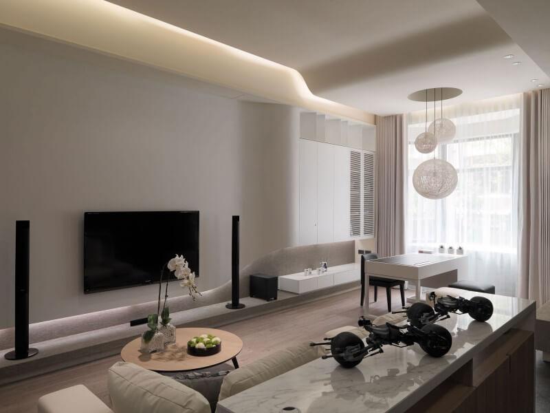Thiết kế phòng khách chung cư 3