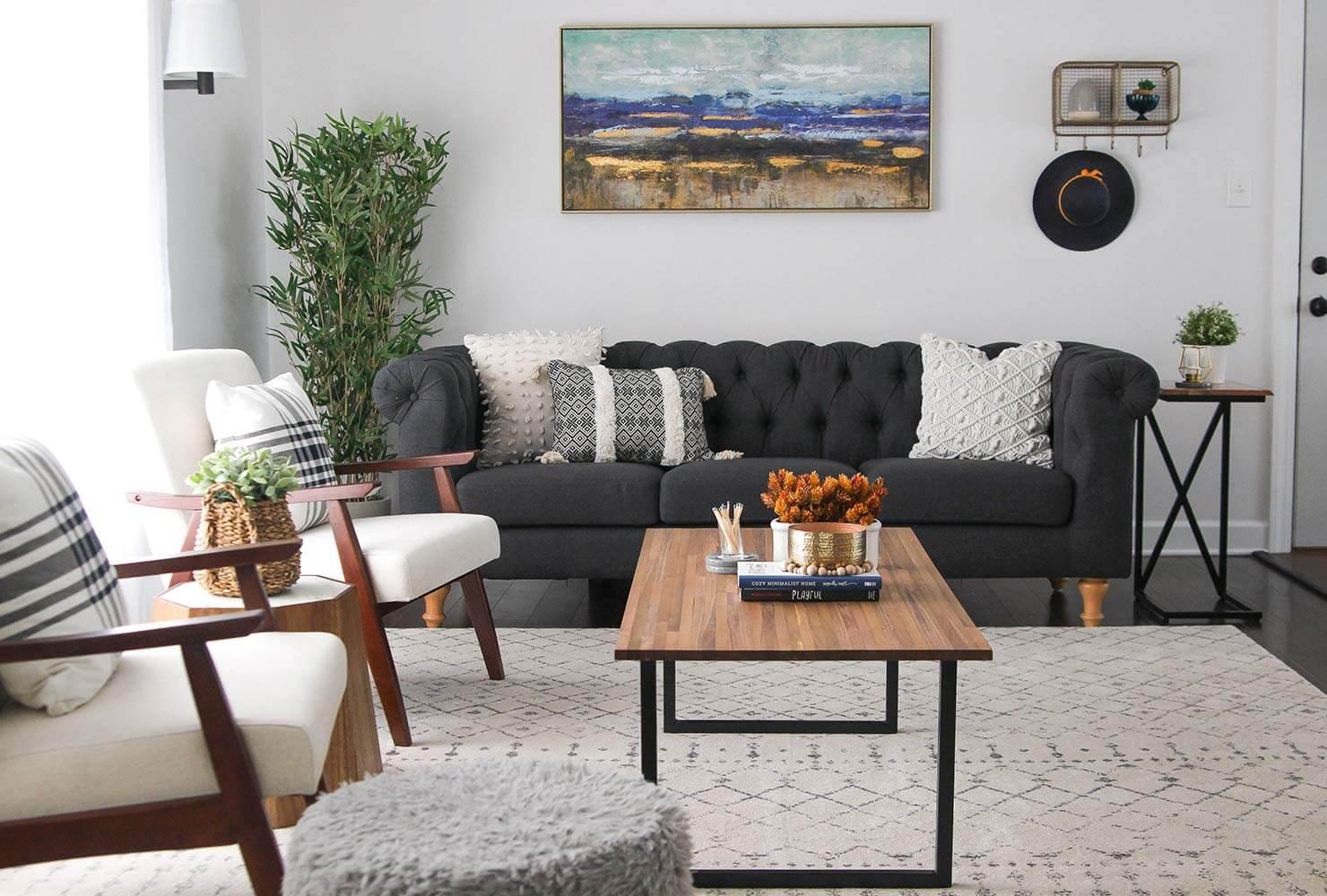 Thiết kế phòng khách đẹp đơn giản
